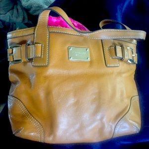 Michael Kors butterscotch shoulder bag light use